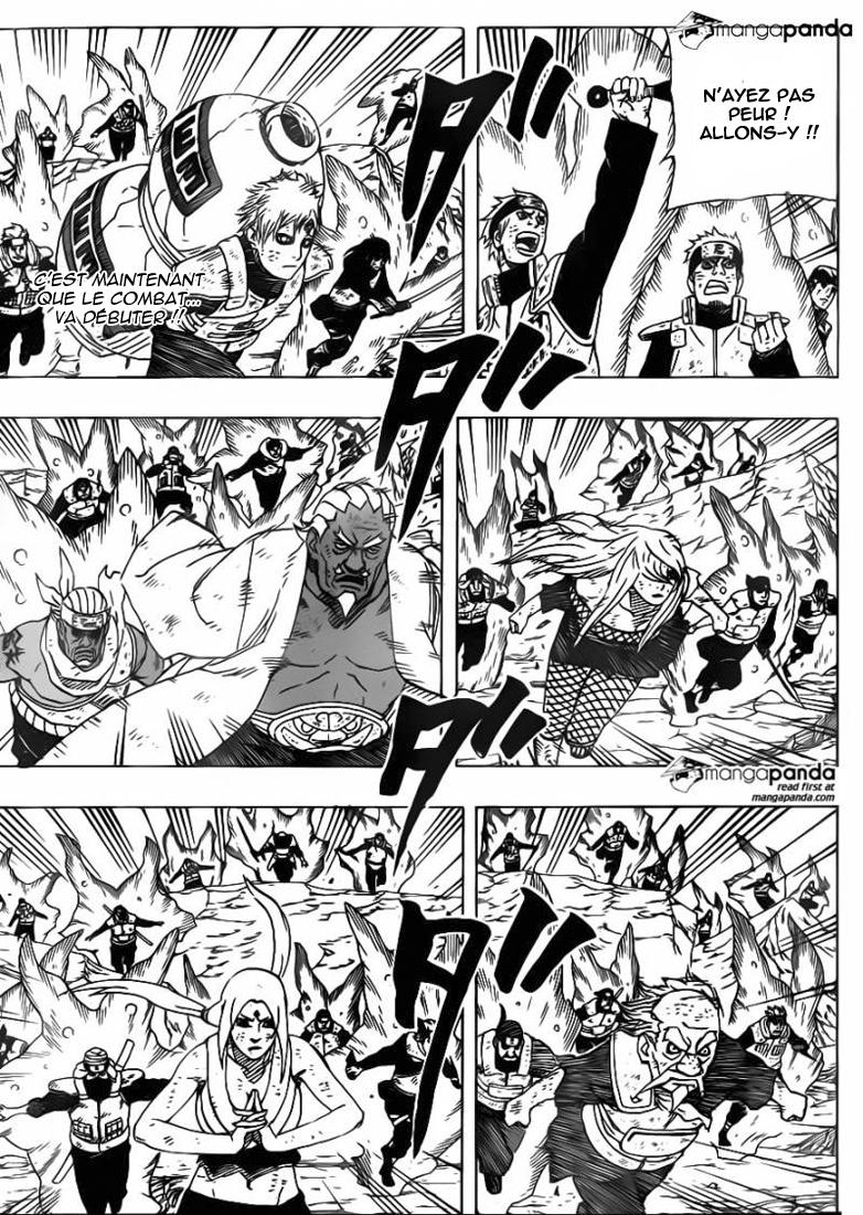 Lecture en ligne Naruto 650 page 2