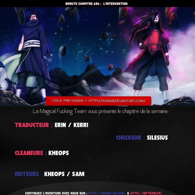 Lecture en ligne Naruto 656 page 1