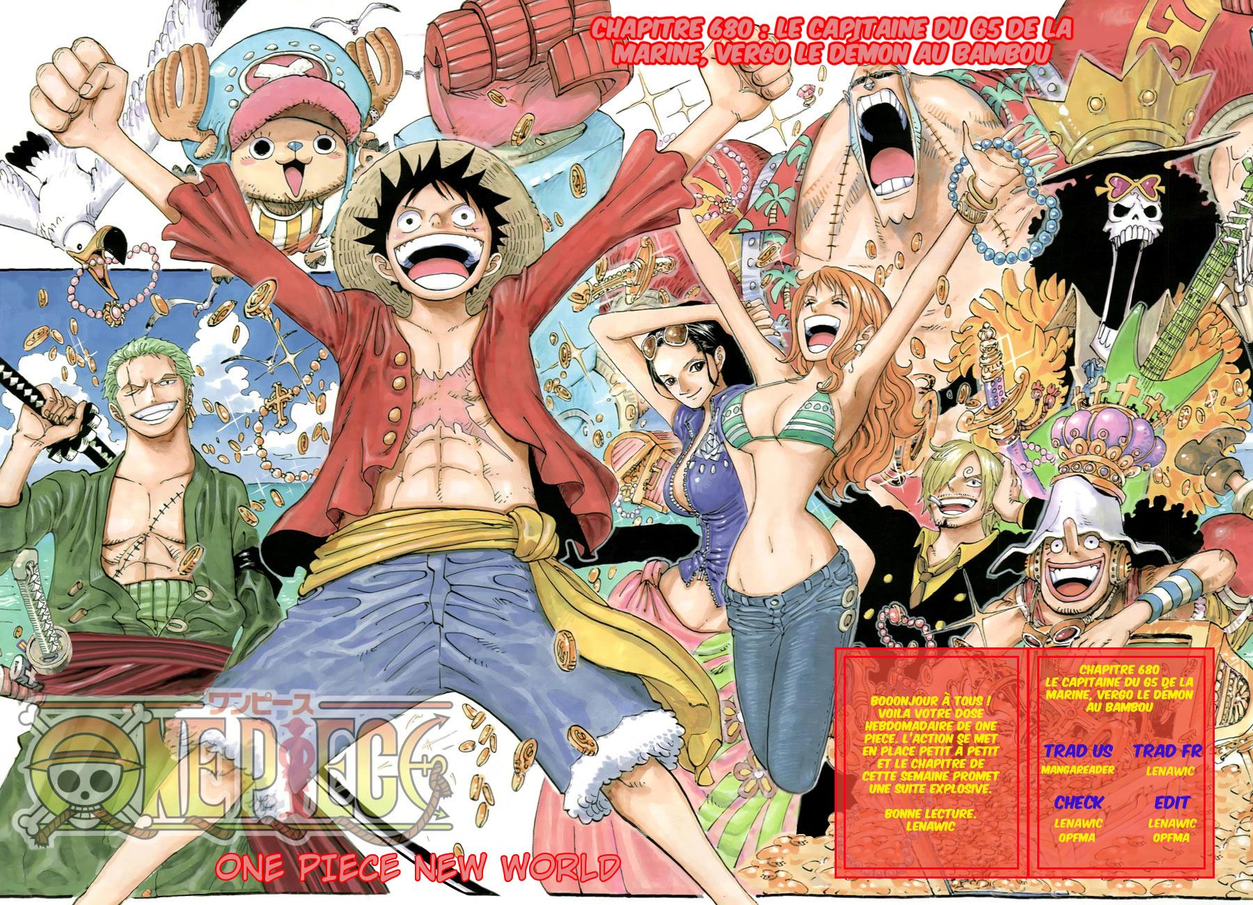Lecture en ligne One Piece 680 page 1