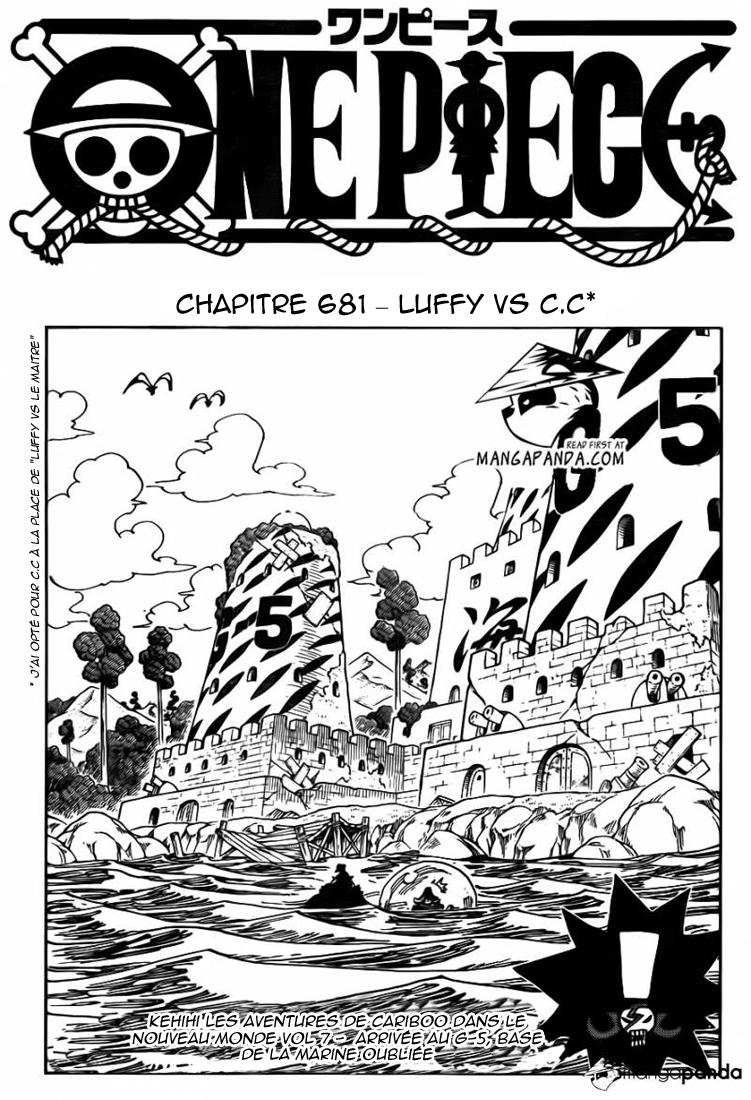 Lecture en ligne One Piece 681 page 2